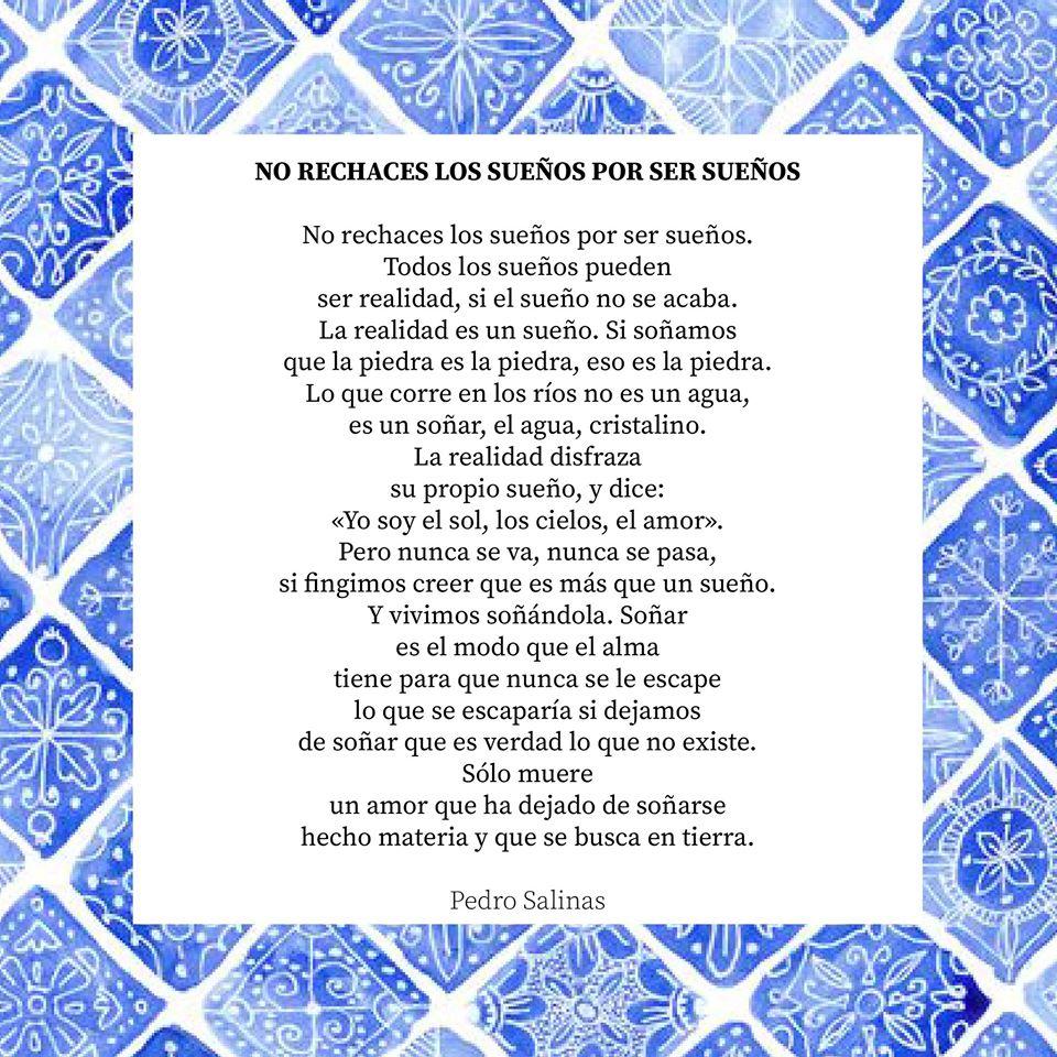 Poesía de Pedro Salinas