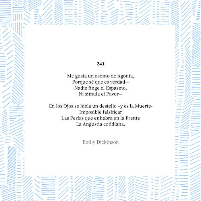 Poema Emily Dickinson