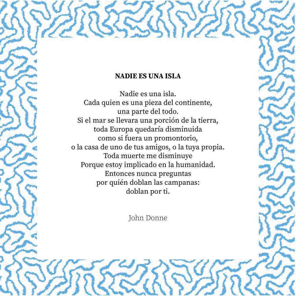 John Donne, nadie es una isla