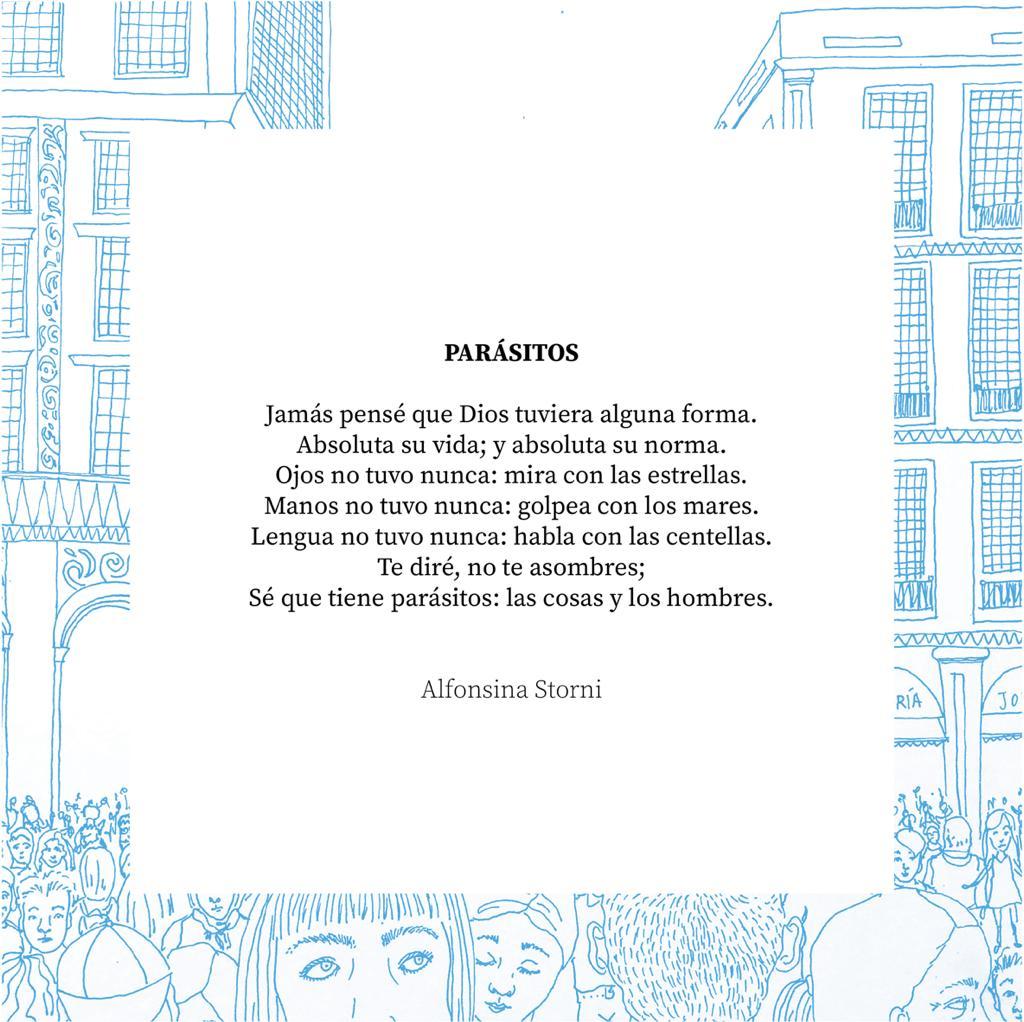 Alfonsina Storni, parásitos