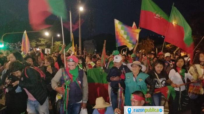 Marchas indigenas