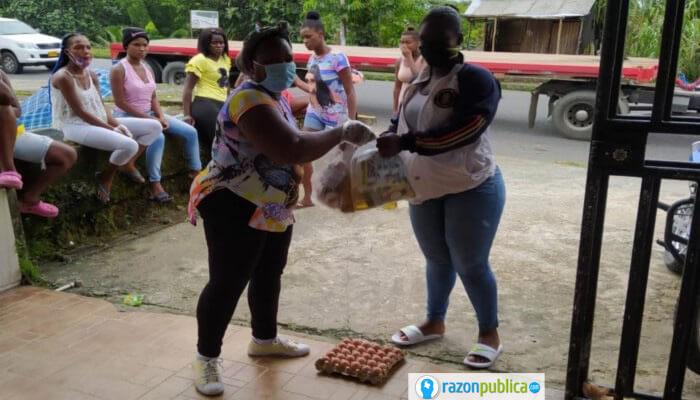 Mujeres en Buenaventura durante la Covid19