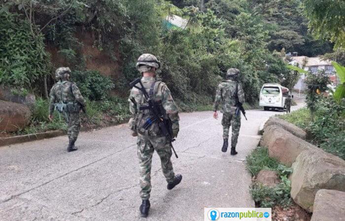 Militares acusados de violación